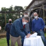 Restauro do pórtico de Orleans será realizado pela Unibave